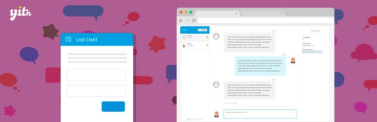 YITH WooCommerce Live Chat plugin screenshot.
