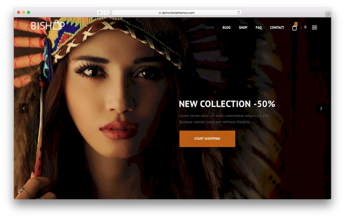 Bishop WooCommerce Theme