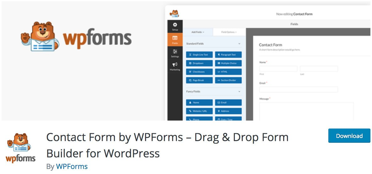 WPForms WordPress Contact Form Plugin
