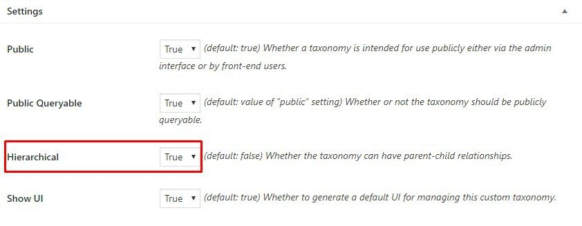 changing tags to categories in CTP UI