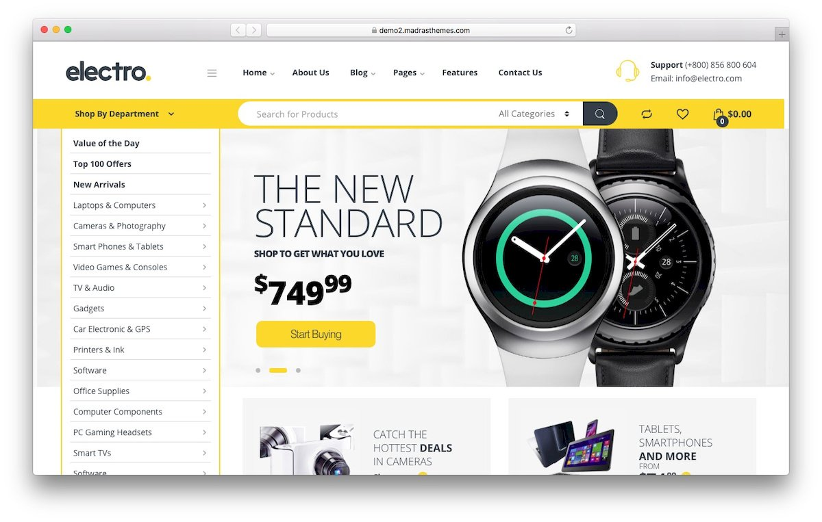 14 Best WooCommerce Themes for 2019 - 000webhost Blog