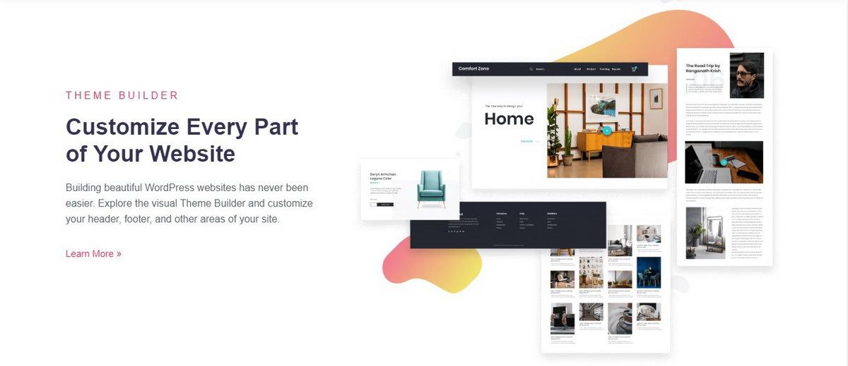Elementor WordPress Page Builder demo screenshot
