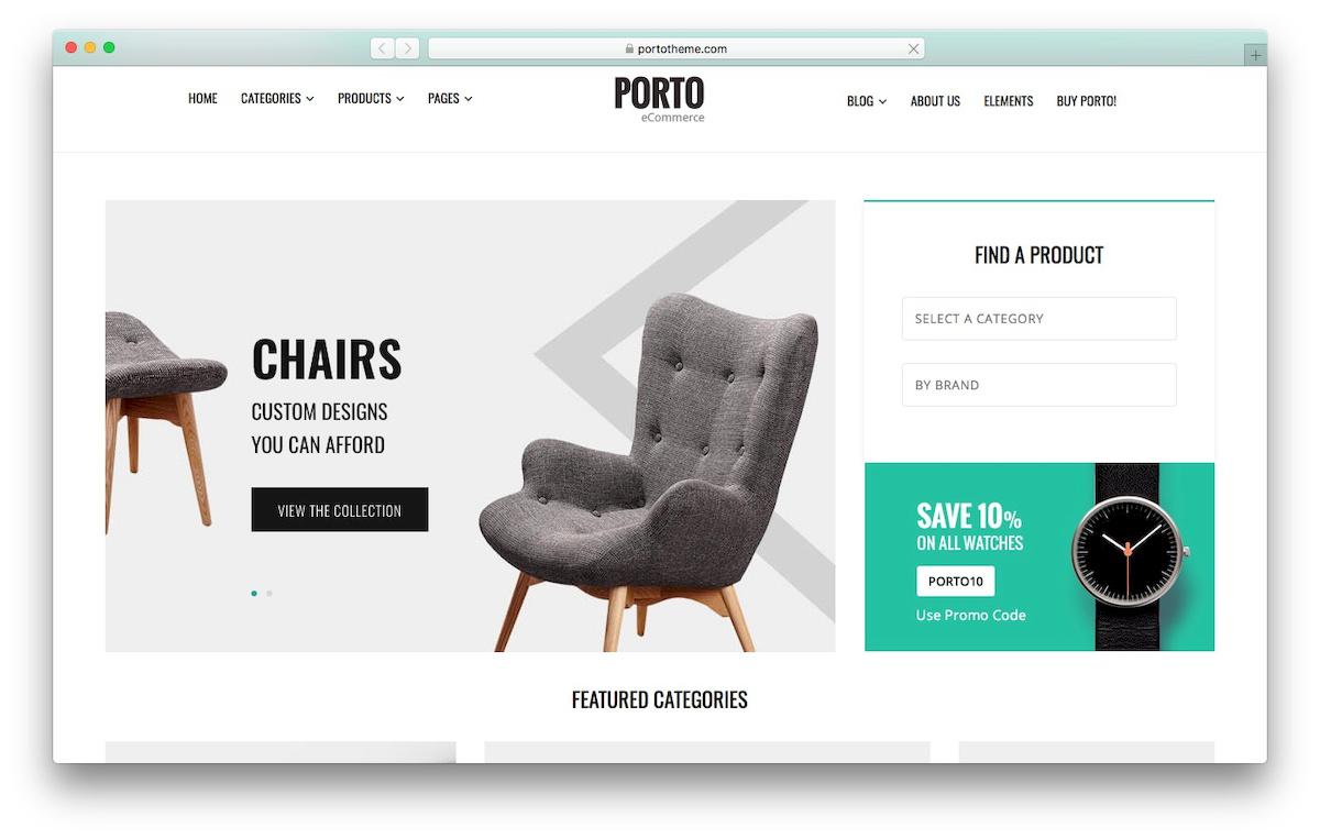 Porto WooCommerce Theme