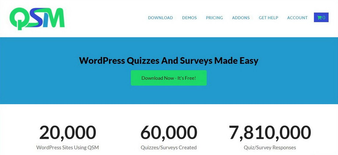 Quiz and Survey Master WP Quiz Plugin