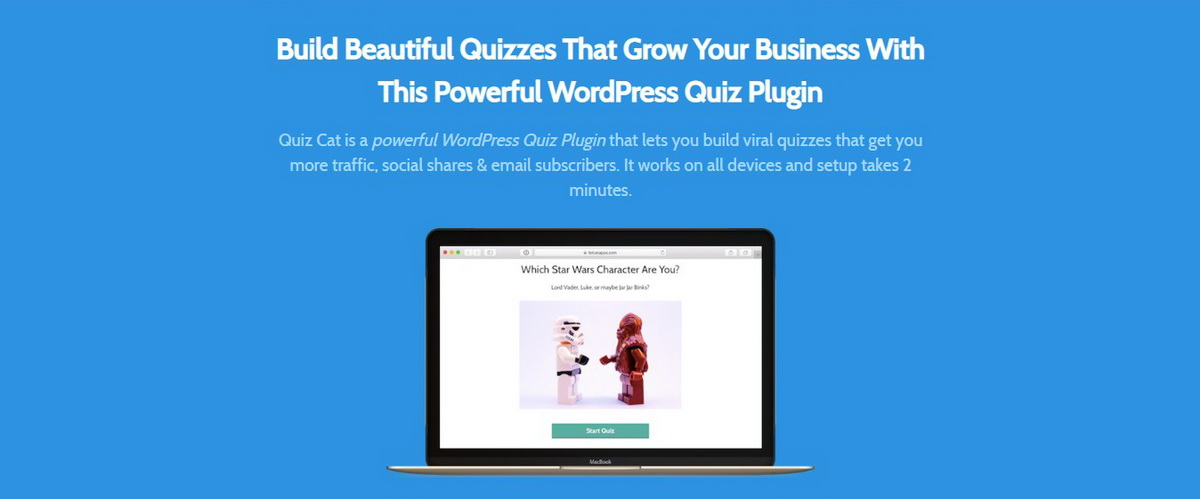 Quiz Cat WP Quiz Plugin