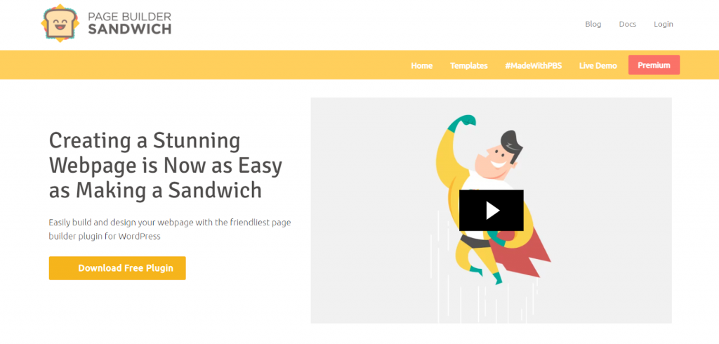Sandwich WordPress Page Builder
