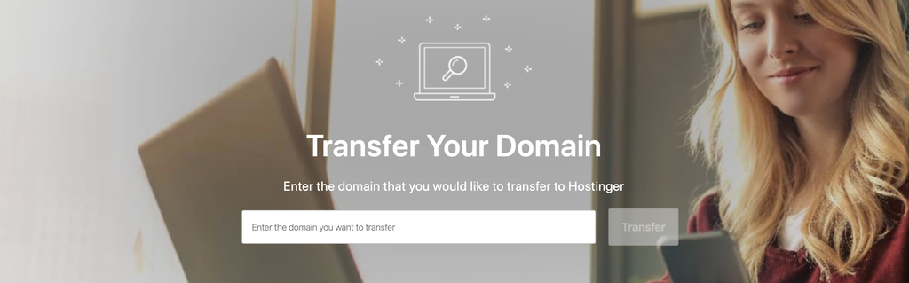 transfer a domain name to hostinger