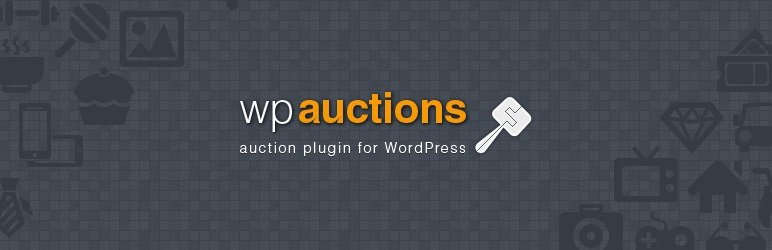 wp auctions pro plugin for WordPress logo