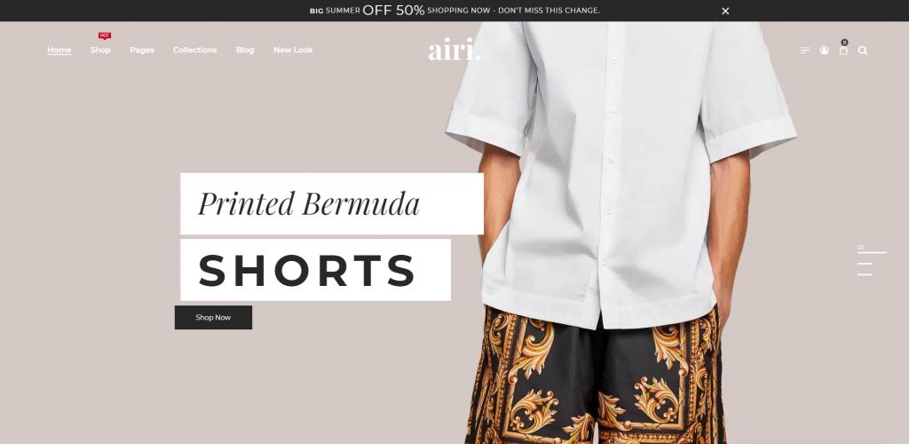 Airi WP WordPress WooCommerce Theme