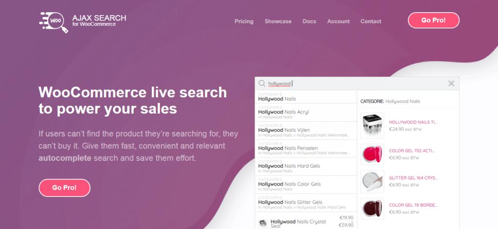 Ajax Search for WooCommerce WordPress Search Plugin