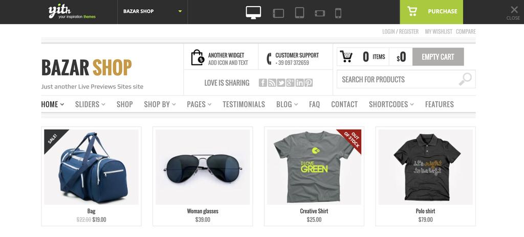 BazarShop WooCommerce Theme