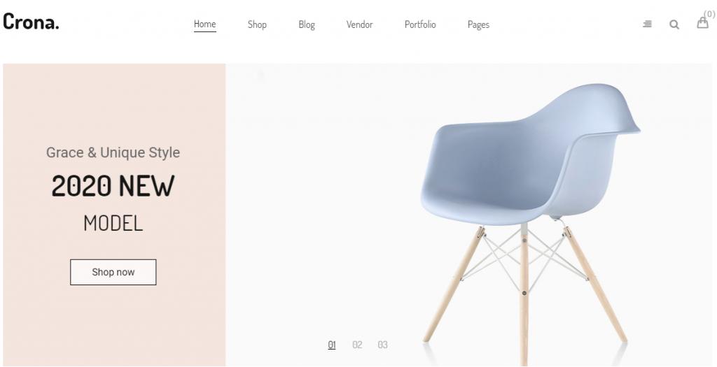 Crona WordPress WooCommerce Theme