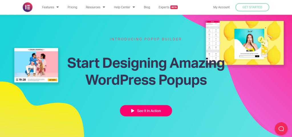 Elementor Pro WordPress Popup Plugin