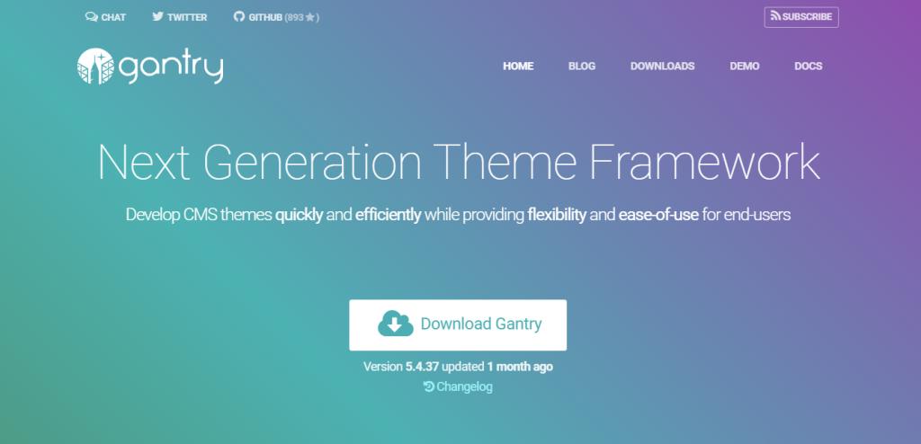 Gantry Framework WordPress