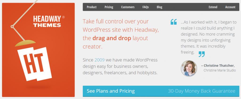 Headway Framework WordPress