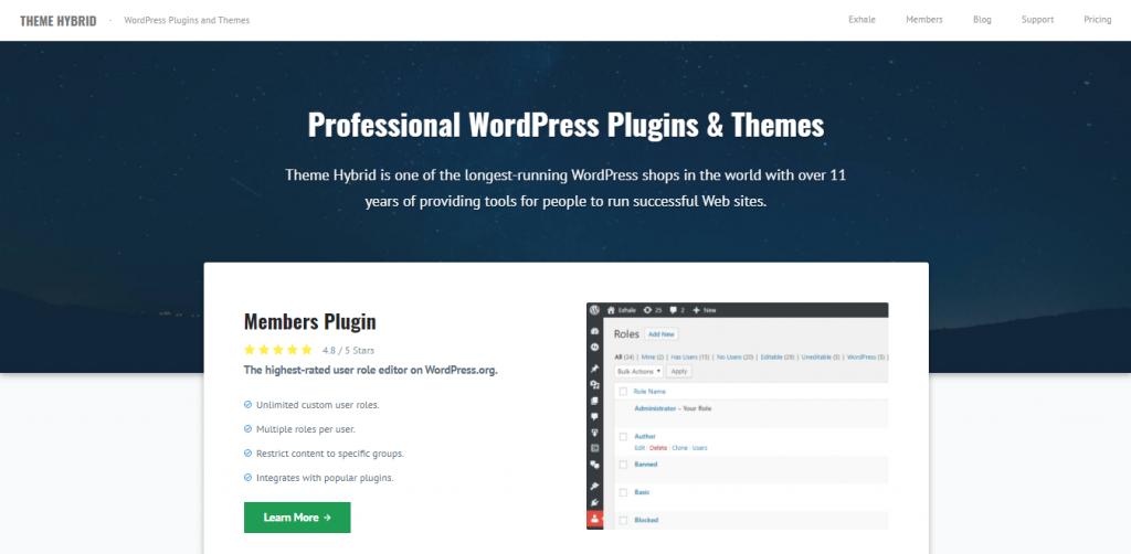Hybrid Core Framework WordPress