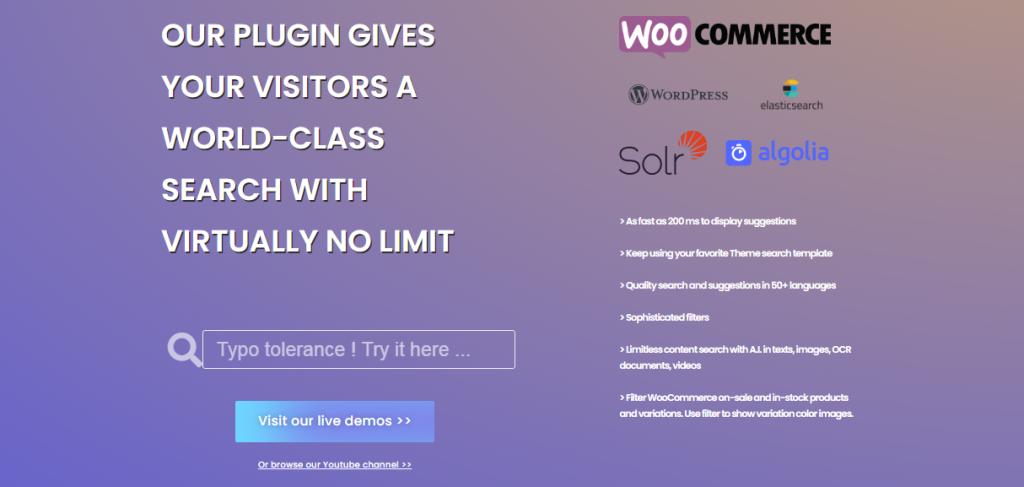 WPSO LR WordPress Search Plugin