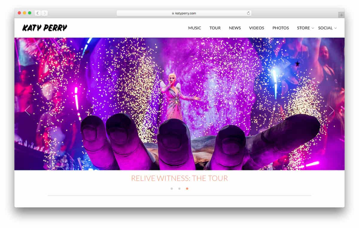 Katy Perry Official Website