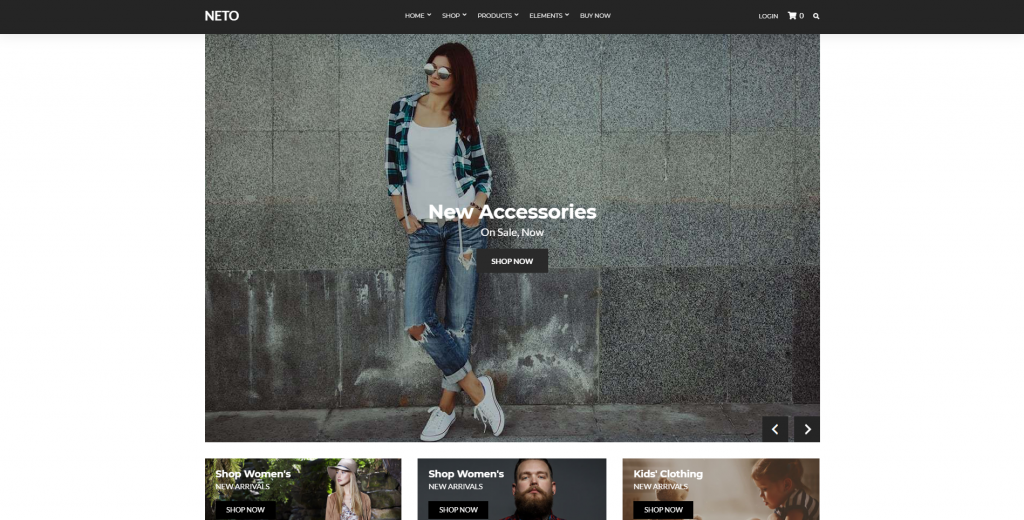 Neto WordPress WooCommerce Theme
