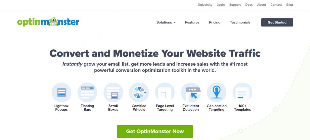 Optin Monster WordPress Popup Plugin