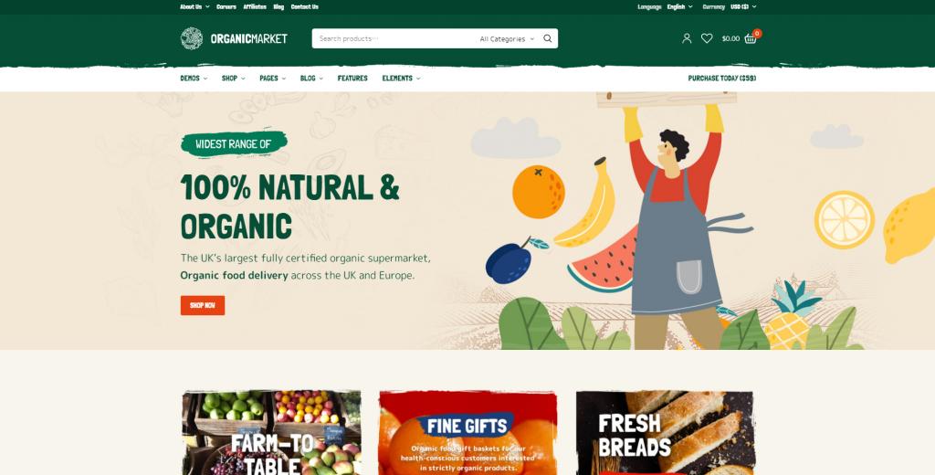 PeakShops WordPress WooCommerce Theme