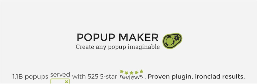 popup maker wordpress popup plugin
