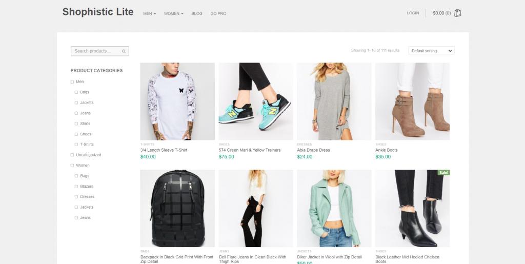Shopphistic WordPress WooCommerce Theme