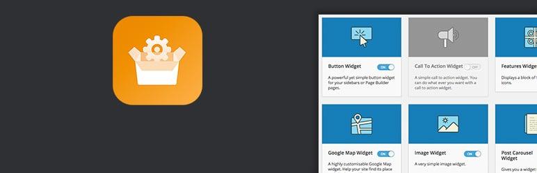 SiteOrigin widget plugin banner