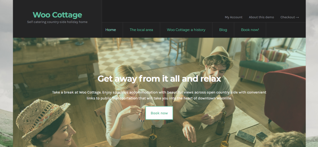 Woo Cottage business woocommerce theme