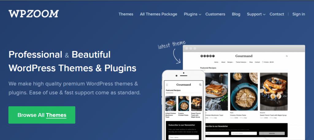 WpZoom Framework WordPress
