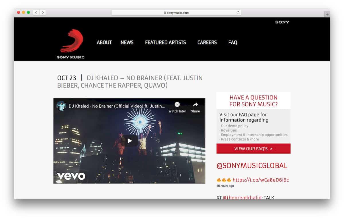 Sony Music Careers