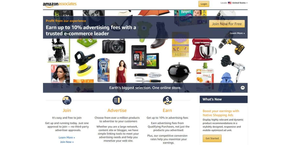 Affiliata di Amazon su come fare soldi con il blog