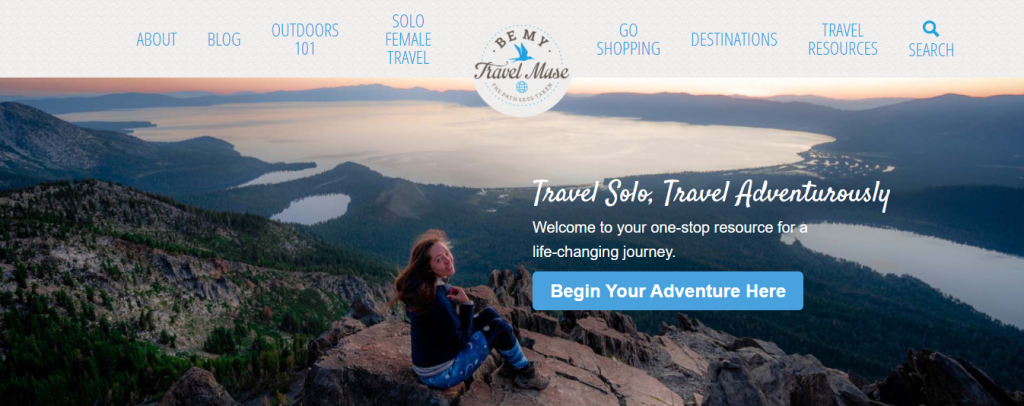 Be My Travel Muse offers advice for solo female travellers