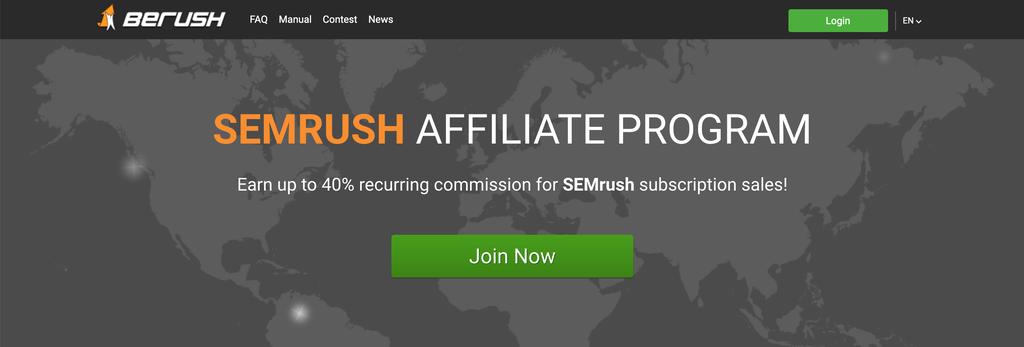berush homepage