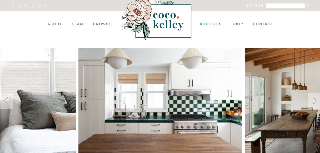 Coco Kelley blog for interior design inspiration
