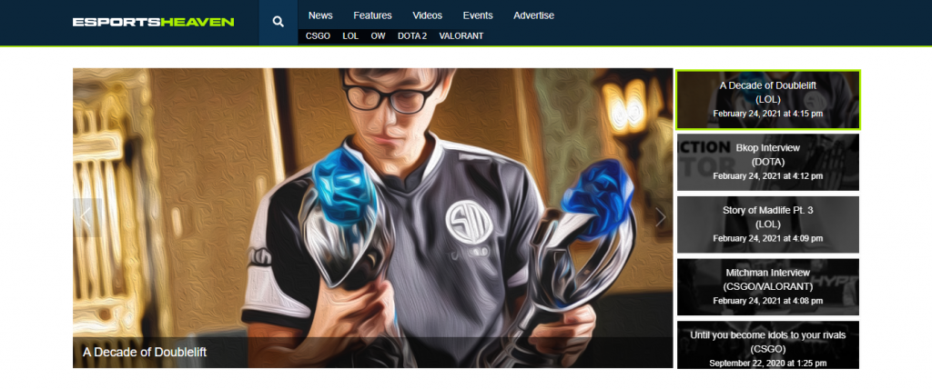A Decade of Doublelift on eSports heaven