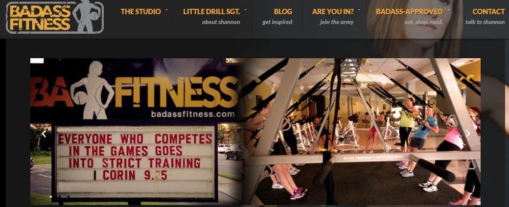 Badass Fitness Fitness Blog Homepage