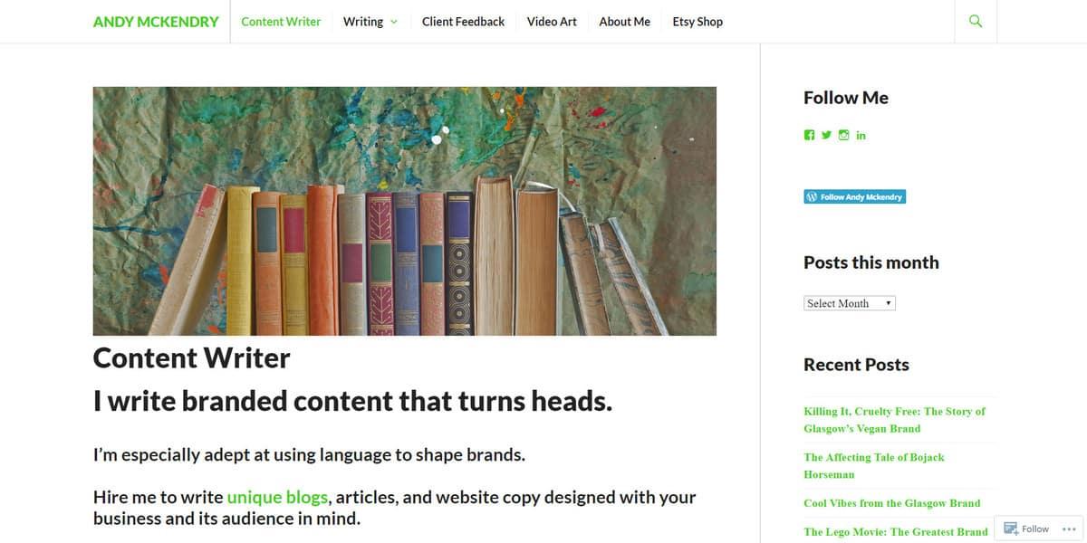 Scrittura indipendente su come fare soldi con il blog