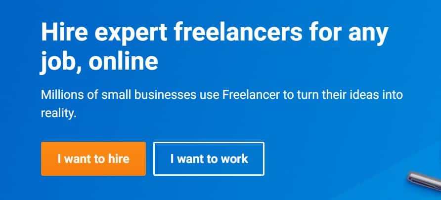 Freelancer the largest freelance network