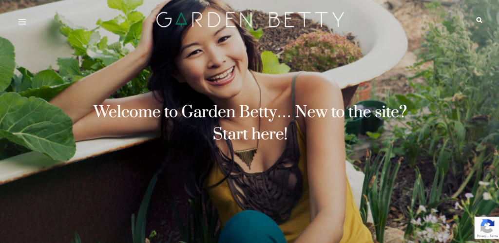 Garden Betty Blog