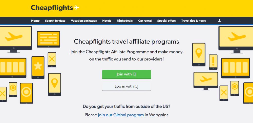 Cheapflights Affiliate Program