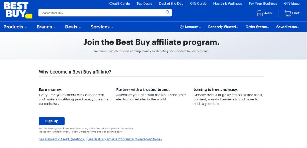 Best Buy Affiliate Program