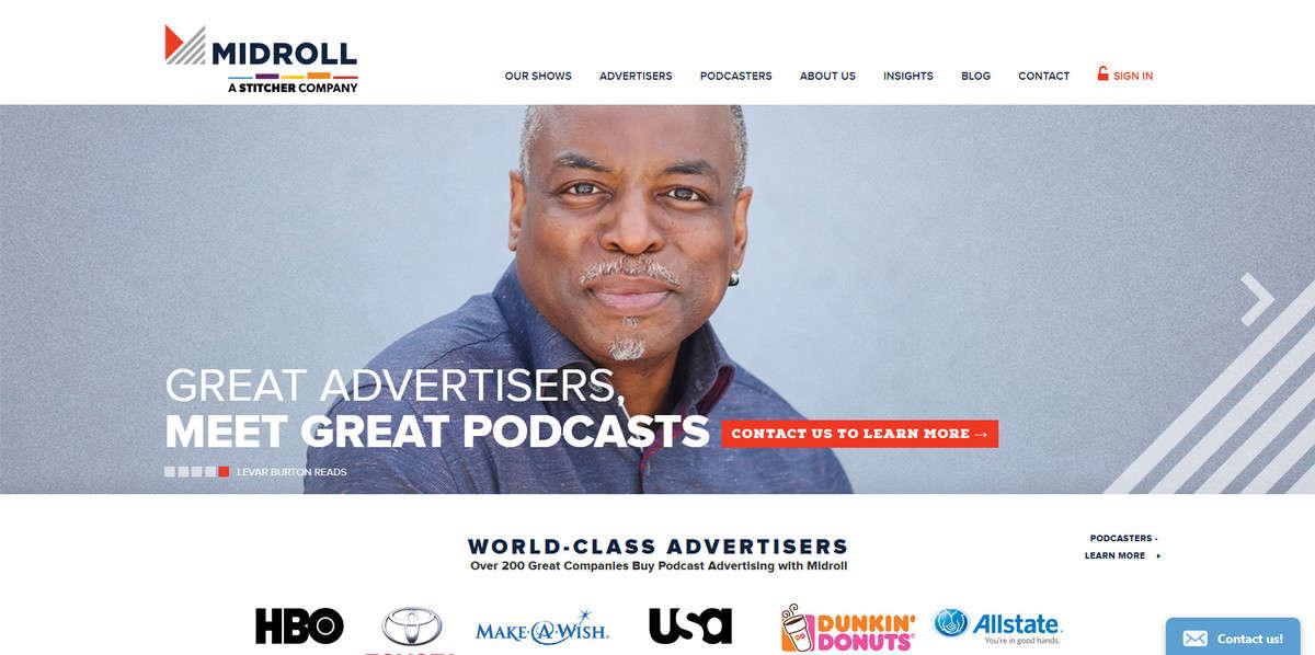 Pubblicità podcast su come anche fare soldi con il blog.