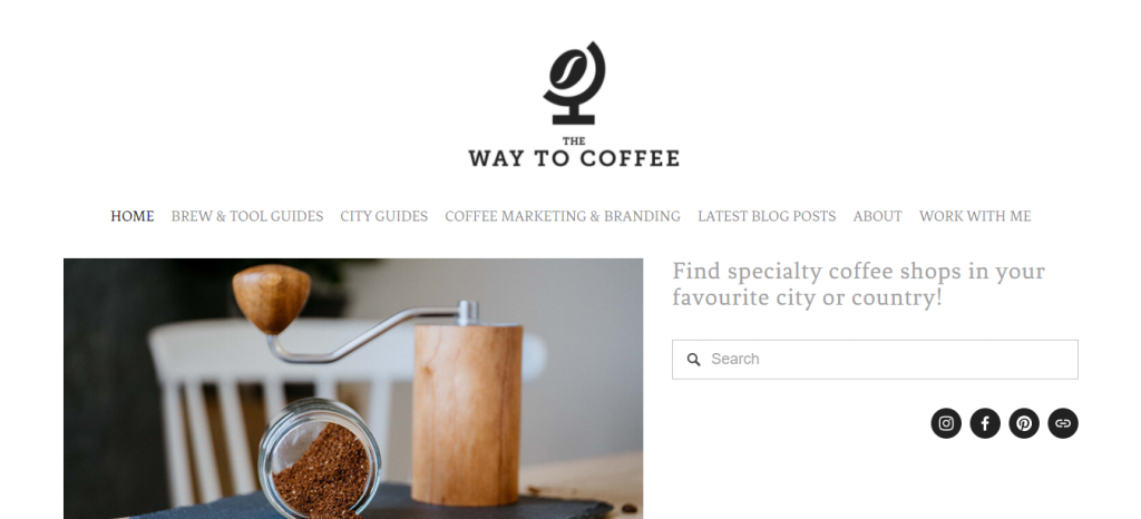 Way To Coffee offers an opportunity to find specialty coffee shops in your area