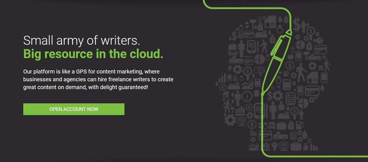 Be a freelance writer in Writing Access