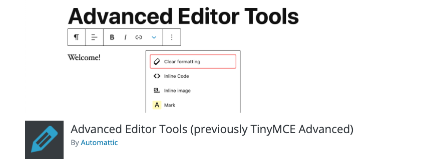 Advanced editor tools plugin banner