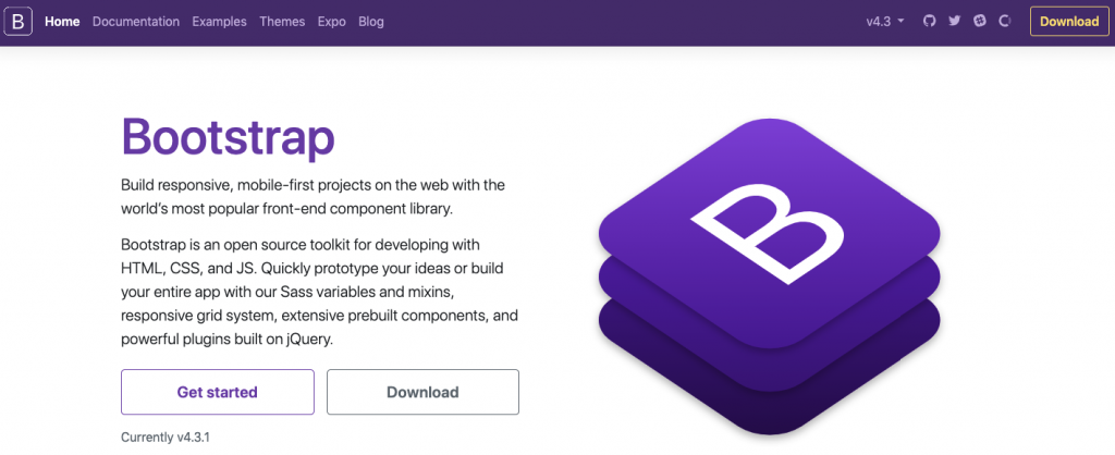 what is bootstrap? bootstrap home page