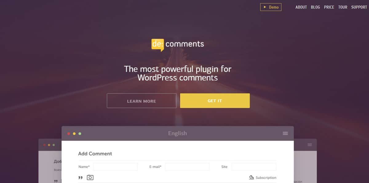 decomment is an amazing wordpress comment plugin