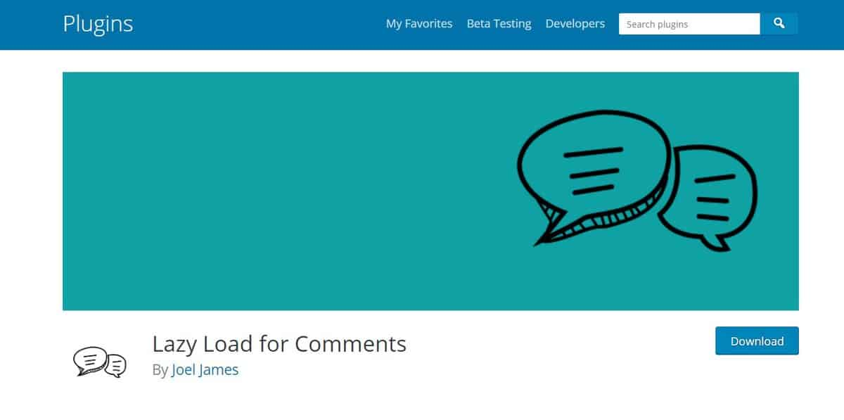 lazy load comment is a great wordpress comment plugin