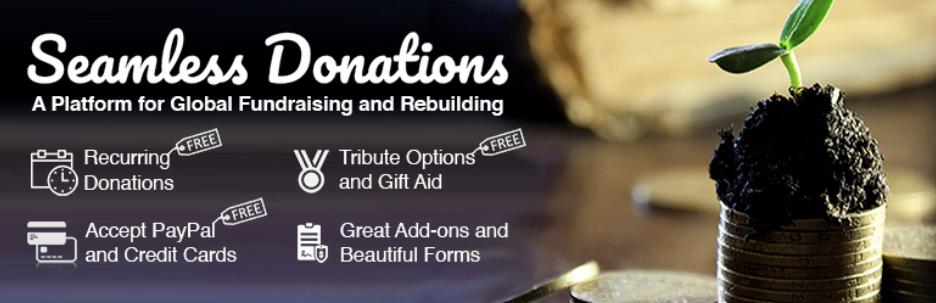 Seamless donations wordpress plugin offers Gift Aid integration
